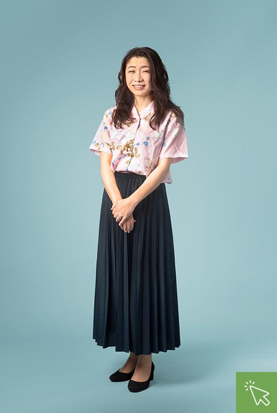 取締役 長谷川裕子 HasegawaHiroko