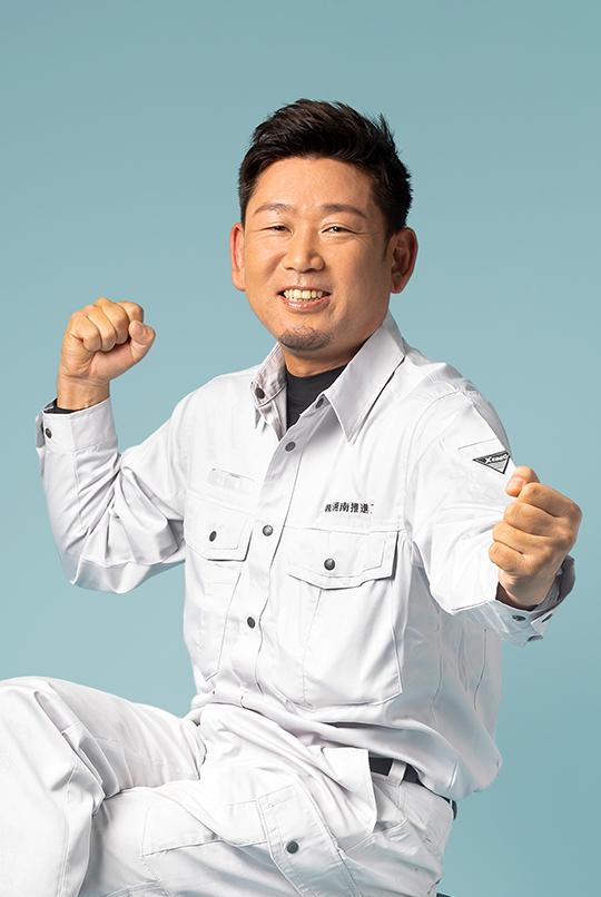 工事部副部長 片野浩二 Katano Koji