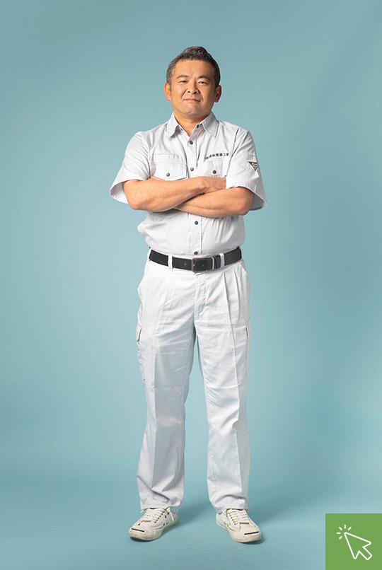 工事部副部長 鈴木健 Suzuki Takeshi