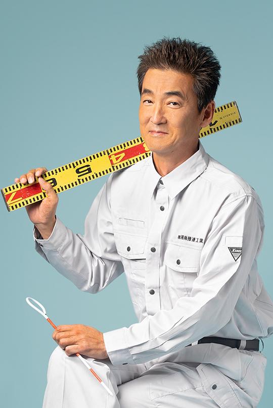 工事部副部長 安田英樹 Yasuda Hideki