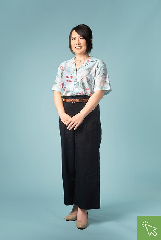総務部 小川 明美 Ogawa Akemi